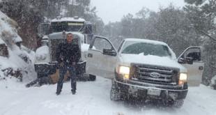 nevadas en chihuahua