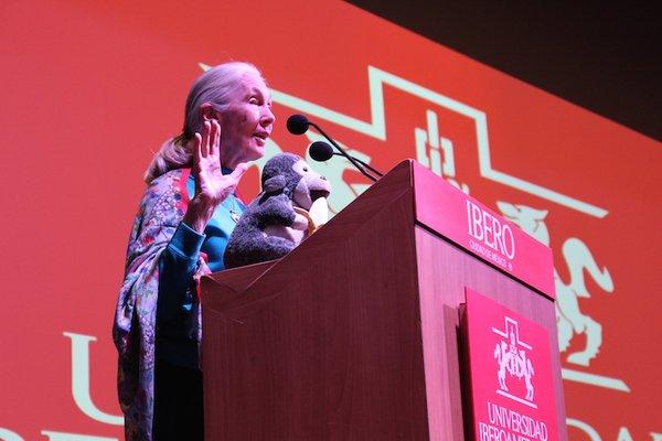 Foto 5 Jane Goodall en la Ibero