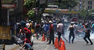 protestas en venezuela por comida