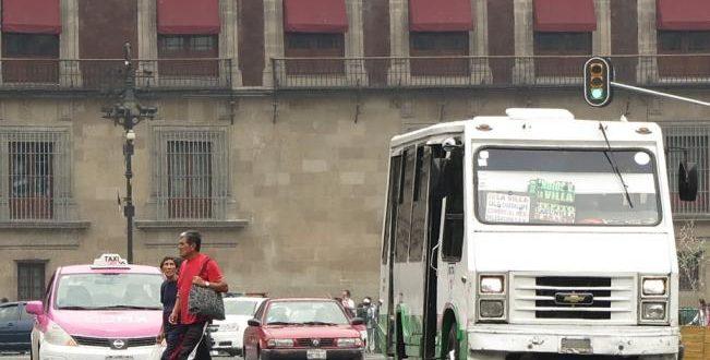 microbuses zocalo