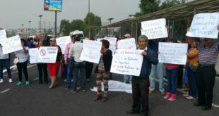 protestan contra asaltos