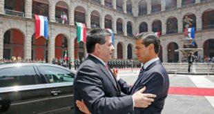 EPN presidente de Paraguay