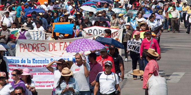 marchas afectaciones