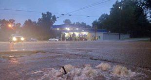 lluvias en Luisiana