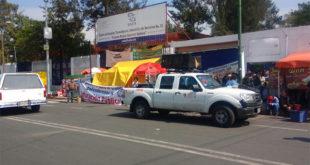 protestas examen CDMX