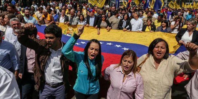 marchan-en-venezuela