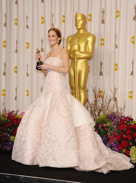 Jennifer Lawrence de Dior en 2013