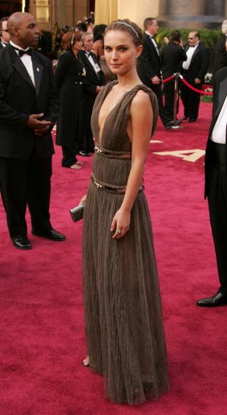 Natalie Portman de Lanvin en 2005