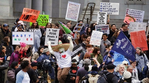Presidents Day Protests