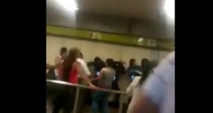 enfrentamiento-metro