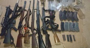 armas y droga