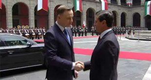 Peña- mandatario Polonia