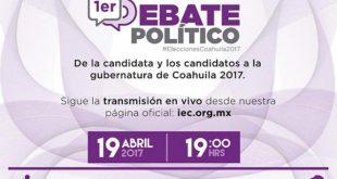 debate Coahuila