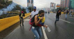 enfrentamientos venezuela