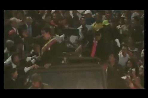 agresion Maduro