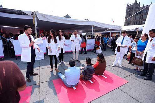 campaña de salud