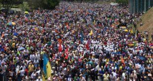 protesta masiva venezuela