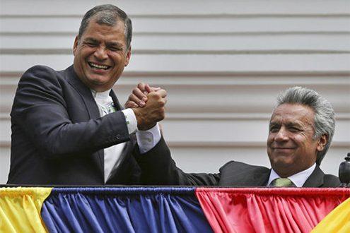 Rafael Correa,Lenin Moreno