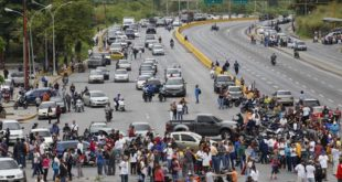 bloqueos Venezuela