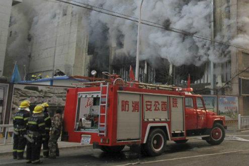 Incendio-China