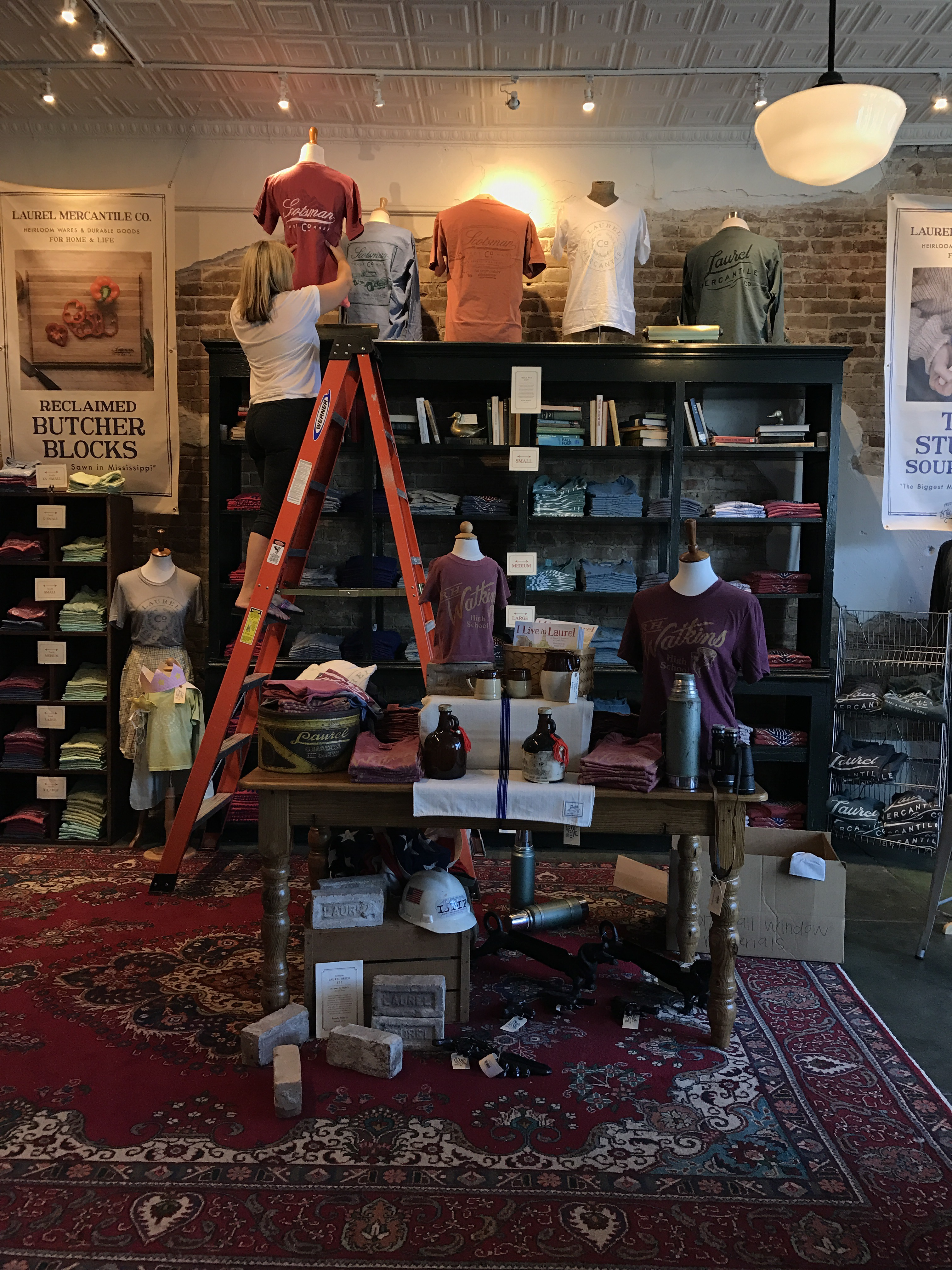 2812 Fall Display Laurel Mercantile Co Re Case 310g Crawler Wiring Diagram In Reply To Holly Otis 0420 We Spent The Afternoon Doing Mercantiles First Ever Installation And Its Been Kind Of A Dream Mine For So Longto Decorate Shop My Own