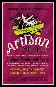 Artisan Market Spring 2014 Poster