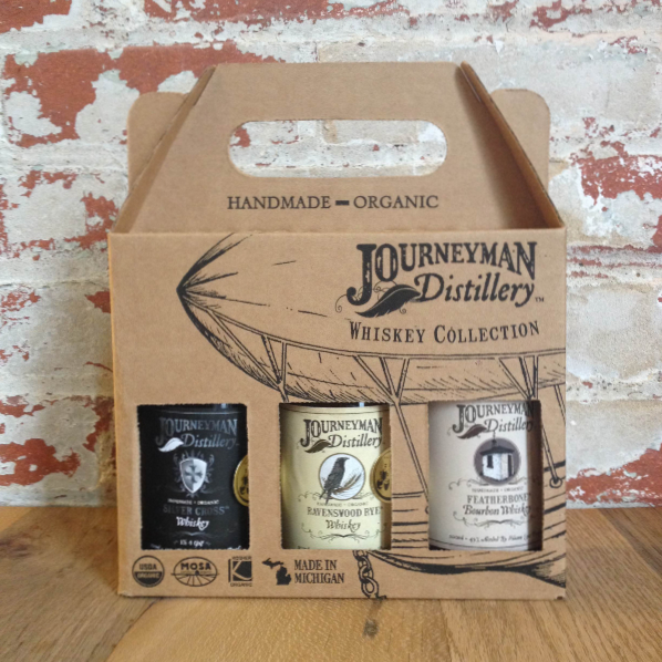 Journeyman Distillery Whiskey Collection