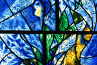 Chagall Windows at the Art Institute of Chicago
