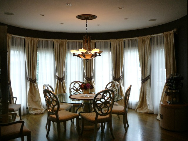 example of silk drapes - Silk Drapes