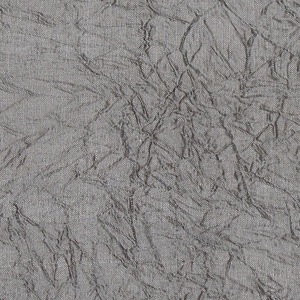 SILK DUPIONI CRINKLES - SILVER  [BEC809]