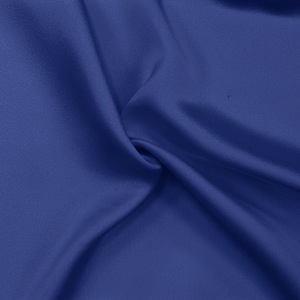 SILK CREPE BACK SATIN SOLIDS - MAZARINE BLUE [CBSP550]