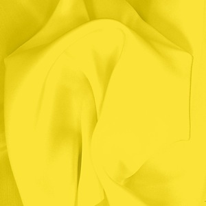 SILK CREPE DE CHINE SOLIDS - BUTTERCUP [CDCP533]