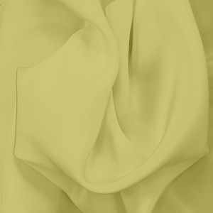 SILK CREPE DE CHINE SOLIDS - LINDEN GREEN [CDCP536]