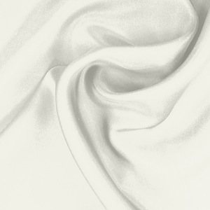 SILK CHIFFON SOLIDS - WHISPER WHITE [CSP502]