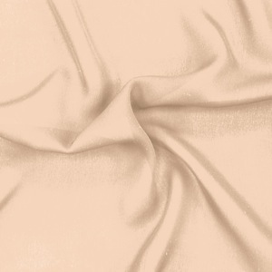 SILK DOUBLE GEORGETTE SOLIDS - NUDE [DGP507]