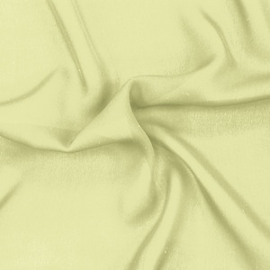 SILK DOUBLE GEORGETTE SOLIDS - YOUNG WHEAT [DGP535]