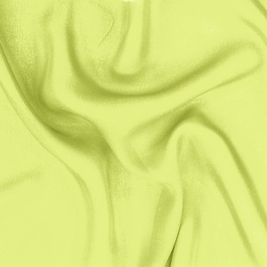 SILK DOUBLE GEORGETTE SOLIDS - SUNNY LIME [DGP538]