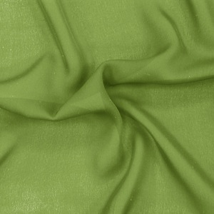 SILK DOUBLE GEORGETTE SOLIDS - PERIDOT [DGP539]