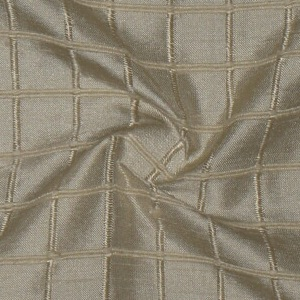SILK DUPIONI WINDOW PANE - DUSTY BEIGE  [DMST134]