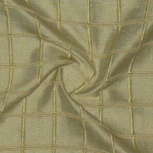SILK DUPIONI WINDOW PANE - CREAM MINT [DMST137]