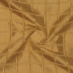SILK DUPIONI WINDOW PANE - GOLD [DMST139]