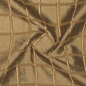 SILK DUPIONI WINDOW PANE - DEEP WALNUT [DMST142]