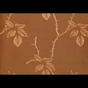 SILK DUPIONI EMBROIDERED-HEAVY - LT MAPLE [EMBH166]