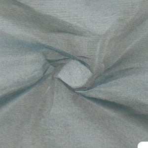SILK ORGANZA SOLIDS - BLUE GREY [OR438]