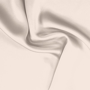 SILK CHARMEUSE SOLIDS - CREAM PINK [SCP511]