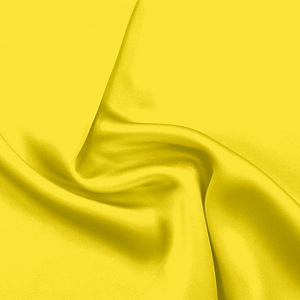 SILK CHARMEUSE SOLIDS - BUTTERCUP [SCP533]