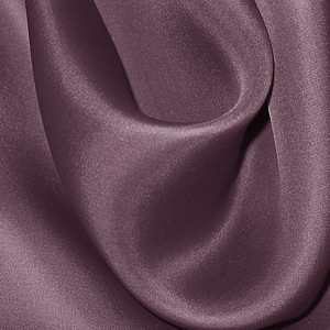 SILK SATIN FACE ORGANZA SOLIDS - EGGPLANT [SOP560]