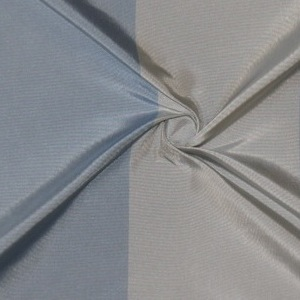 SILK TAFFETA STRIPES - BUFFALO STRP BLUE HAZE/BLU DUSK [TFS425]