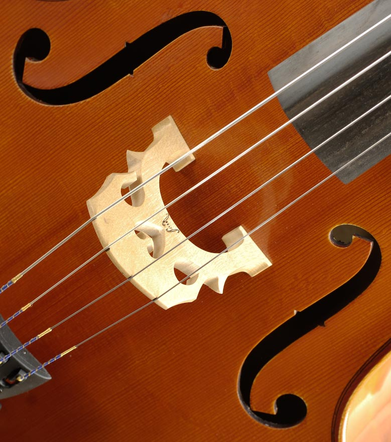 Laminate Cello Rental Bridge