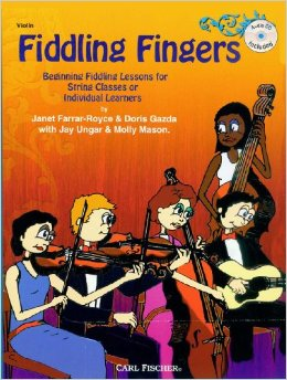 Fiddling Fingers Book